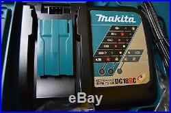 Makita XT248R 18V LXT Li-Ion Brushless Cordless 2-PC Drill & Impact Combo Kit