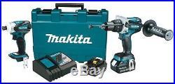Makita XT252MB 18-Volt 4.0Ah 2-Piece Lithium-Ion Brushless Cordless Combo Kit