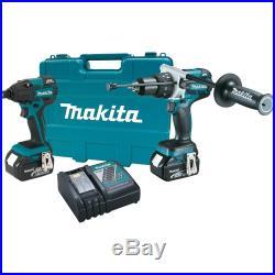 Makita XT257M 18V LXT Li-Ion Brushless Cordless 2-Pc. Combo Kit