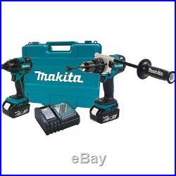 Makita XT257T 18V LXT Lithium-Ion Brushless Cordless 2-Piece Combo Kit