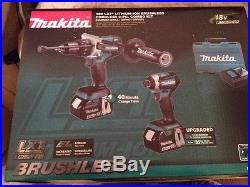 Makita XT268M 18V LXT Hammer Drill / Impact Driver 2-Tool Combo Kit (4 Ah)