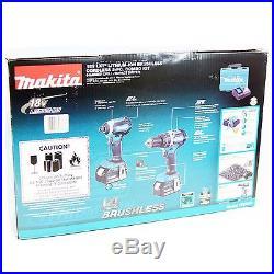 Makita XT269M 18V LXT Lithium Ion Brushless Cordless 2 Pc. Combo Kit