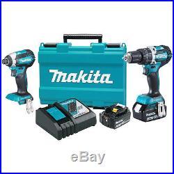 Makita XT269M 18-Volt 4.0 Ah LXT Lithium-Ion Brushless Cordless Combo Kit 2pc
