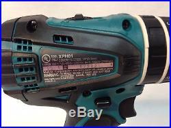 Makita XT324 18V Li-Ion LXT Cordless Drill Impact Driver Grinder Combo Tool Kit