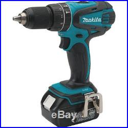 Makita XT324 18V Lithium LXT Cordless Drill Impact Driver Grinder Combo Tool Kit
