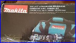 Makita XT328M 18V LXT 4.0 Cordless Lithium-Ion Brushless 3-Piece Combo Kit New