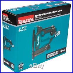 Makita XTP02Z 23 Gauge 18V LXT Lithium-Ion Cordless Pin Nailer