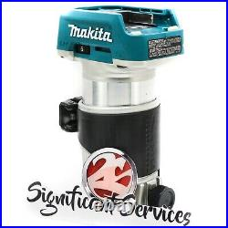 Makita XTR01Z 18-Volt 1/4-Inch Cordless Brushless Compact Router 5.0 Ah Battery