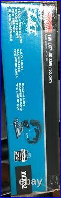 Makita XVJ03Z 18V 18 Volt LXT Lithium-Ion Jigsaw Cordless Battery Saw Blades NEW
