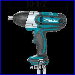 Makita XWT04Z 18V LXT LithiumIon Cordless 1/2 Sq. Drive Impact Wrench (Recon)