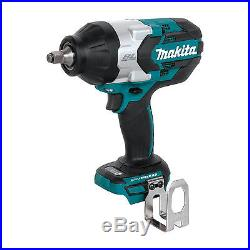Makita XWT08Z 18V Brushless High Torque 1/2 Sq. Drive Impact Driver (Tool Only)