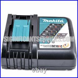 Makita XWT08Z 18V LXT Li-Ion Brushless 1/2 in Sq. Drive Impact Wrench 5.0 Ah Kit