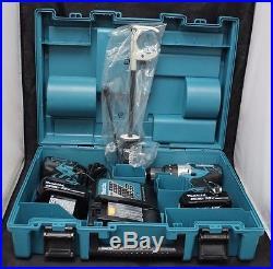 Makita Xt257tb 18v Lithium-ion Brushless Cordless 2-pc Combo Kit (5.0ah) Lxt Bl
