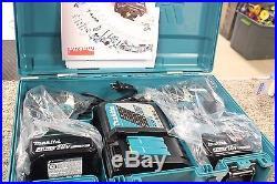Makita Xt269m 18v Lxt Li-ion Brushless Cordless Hammer Drill/impact Driver Kit
