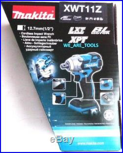 NEW IN BOX Makita 18V XWT11Z Brushless Cordless 1/2 Impact Wrench 3 Speed