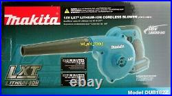 NEW IN BOX Makita DUB182Z LXT 18v Cordless Compact Battery Blower 18 Volt LXT