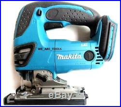 NEW IN BOX Makita XVJ03Z 18V Cordless Battery Jigsaw, 6 Blades LXT 18 Volt