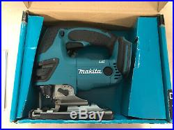 NEW IN BOX Makita XVJ03Z 18V Cordless Jigsaw with6 Blades LXT Bare Tool No Battery