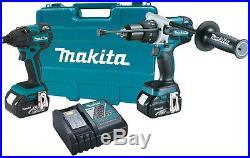 NEW MAKITA XT257M 18V LXT LithiumIon Brushless 2Pc. Combo Kit