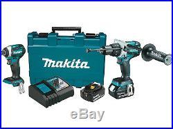 NEW MAKITA XT268M 18V LXT LithiumIon 2Pc Combo Kit (4.0Ah) (Autorized Dealer)