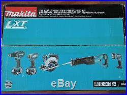 NEW Makita 18V LXT 3.0 Ah Cordless Lithium-Ion 5-Piece Combo Kit XT505