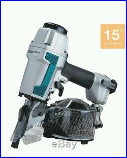 NEW Makita AN611 2 1/2 in. 15 Degree Siding Coil Nailer Air Nail Gun