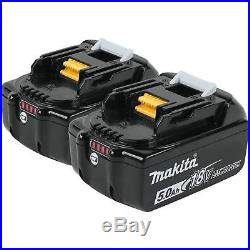 NEW Makita BL1850B-2 18V LXT LiIon 5.0Ah Genuine Makita Batteries