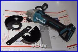 NEW Makita XAG03Z, 18V LXT 4-1/2 Angle Grinder Brushless xag01 cordless