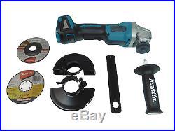 NEW Makita XAG06Z 18V LXT Li-Ion Brushless 4-1/2 Paddle Switch Grinder (Bare)