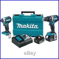 NEW! Makita XT269M 18-Volt LXT Lithium-Ion Brushless Cordless Combo Kit