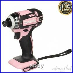 NEW Makita rechargeable impact driver 18V pink body only TD149DZP From JAPAN