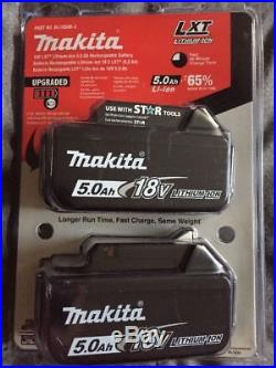 NEW & SEALED MAKITA BL1850B-2 18V 18 Volt Li-Ion 5.0 AH Battery packs withFuel