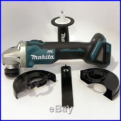 New Brushless Makita XAG03 4-1/2 Angle Grinder, tool only, no 18V Battery Loose
