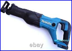New Makita 18V XRJ04 Cordless Battery Reciprocating Saw With Blade 18 Volt