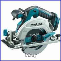 New Makita 18V XSH03Z Cordless Brushless 6 1/2 Circular Saw With Blade LXT