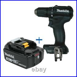 New Makita 18Volt Brushless Driver Drill 1/2 in XFD11Zb BL1840B 18V Battery
