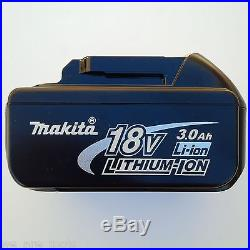 New Makita 18 Volt XWT05 1/2 Impact Wrench, (2) BL1830 Batteries, (1) Charger 18V
