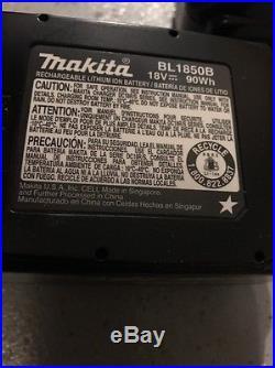 New Makita BL1850B 18V 5.0Ah Lithium Ion Battery 2 Batteries BL1850-2 BL1850B-2