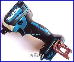 New Makita Brushless 18 Volt XDT14 Cordless 1/4 3-Speed Battery Impact Driver