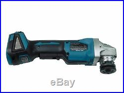 New Makita XAG06Z Grinder 18V LXT Brushless 4-1/2 Paddle Switch cut off tool