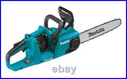 New Makita XCU03Z 36V 14 Chain Saw Cordless Brushless, Tool Only