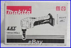 New Makita XNJ01Z 18V LXT Li-Ion Cordless 16 Gauge Nibbler, Bare Tool