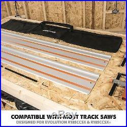 Track Saw Guide Rail Set Festool Makita Bosch Circular Saws + Carry Bag 2.8m DIY
